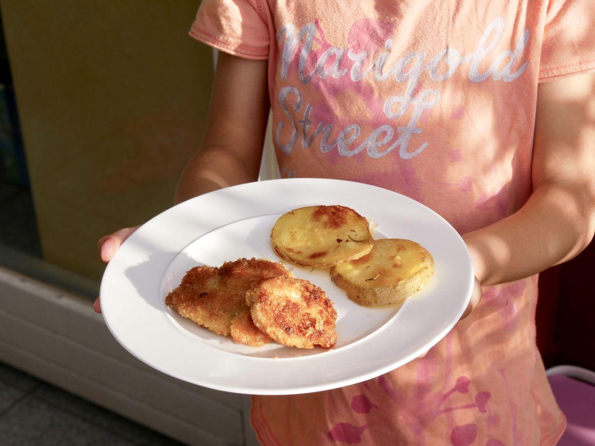 Probekochen: CHICKEN-NUGGETS MIT ROSMARIN-KARTOFFEL