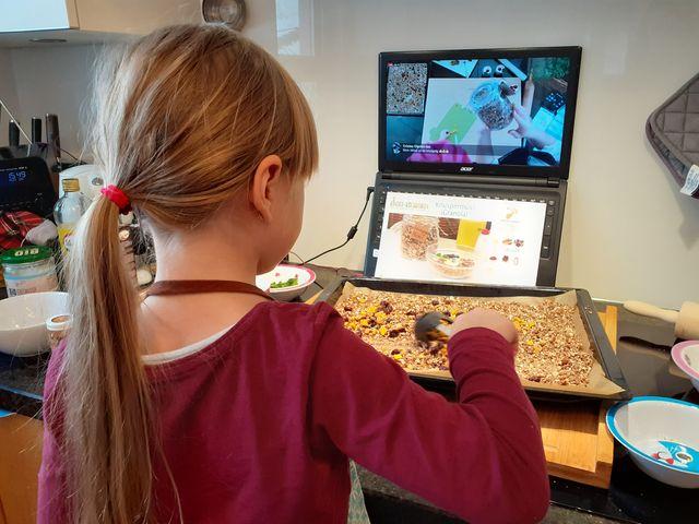 Online Kochkurs für Kinder
