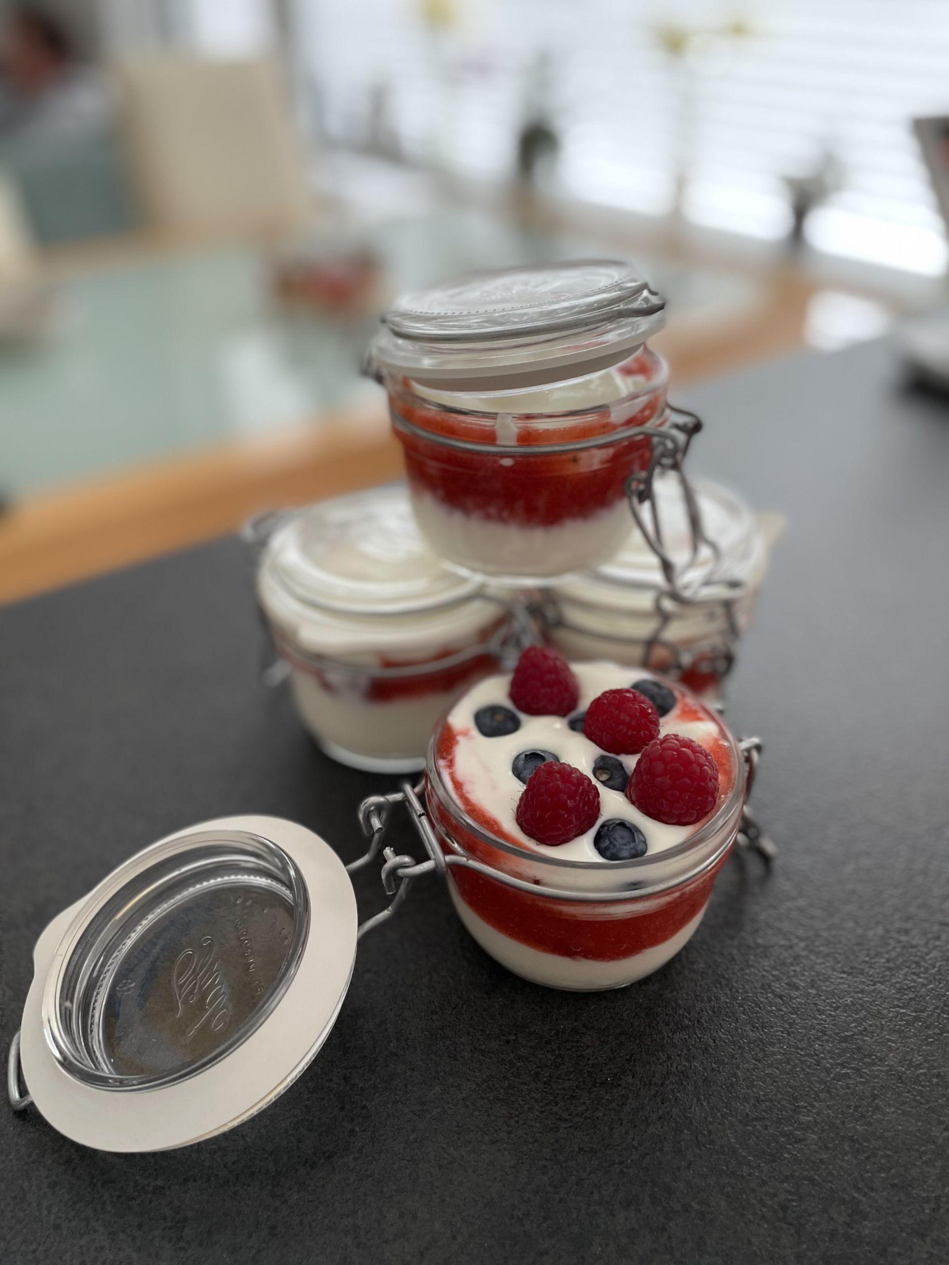 Fruchtjoghurt von Kinder-Kochkurs.com