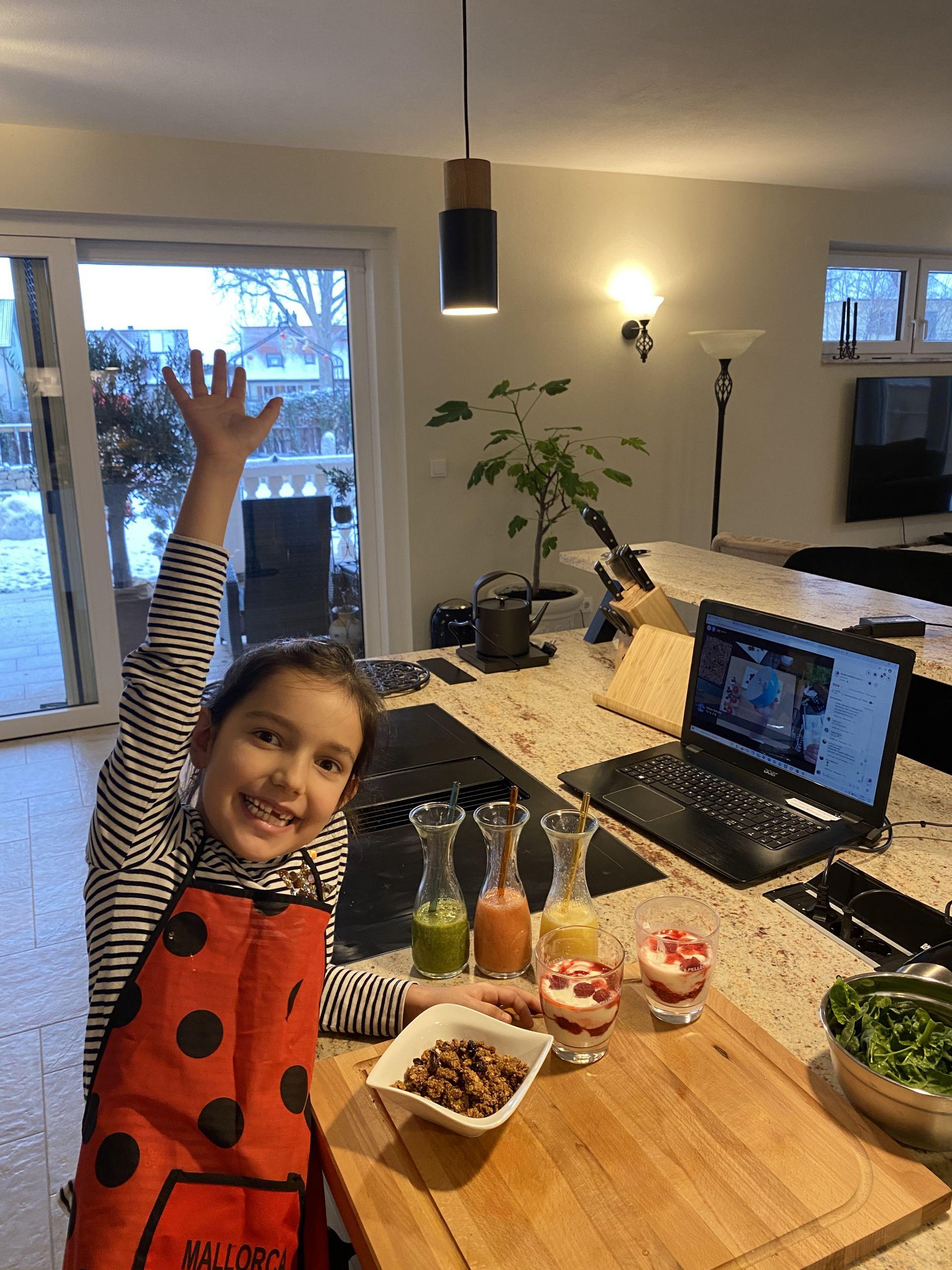Online Kochkurs für Kids