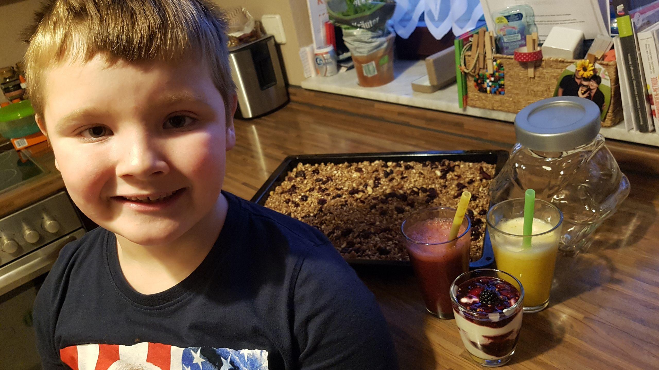 Gesundes Frühstück für Kids das schmeckt