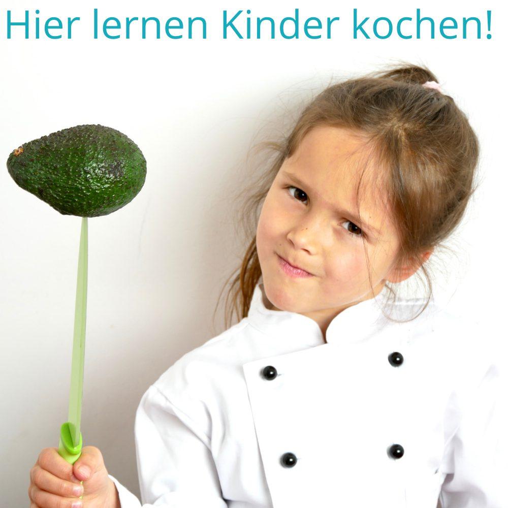 Hier lernen Kinder kochen!
