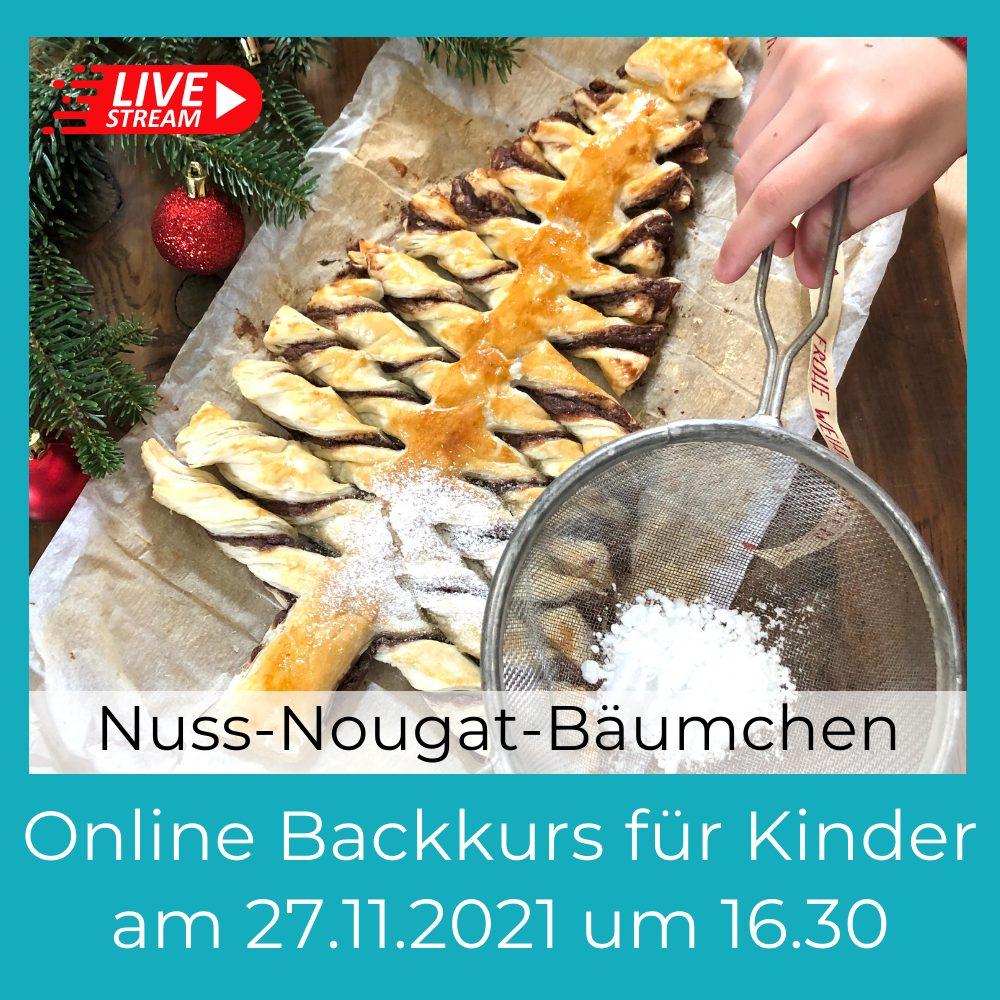 Nuss-Nougat-Bäumchen